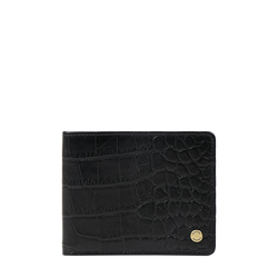 36 02 Sb (Rfid) Men's Wallet Croco,  black