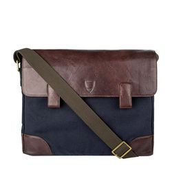 Tuareg 01 Messenger bag,  navy blue