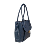 Tabit 01 Women s Handbag, Lizard Melbourne Ranch,  midnight blue