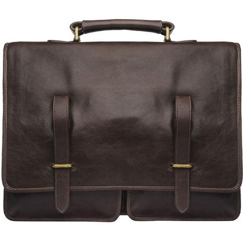 Parma Briefcase, ranchero,  tan