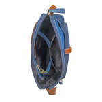 Sb Mensa 02 Women s Handbag, Cement Lizard Ranchero,  blue