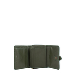 Shanghai W3 Sb (Rfid) Women s Wallet Melbourne Ranch,  emerald green