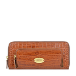 KATNISS W1 (RF) SB WOMENS WALLET CROCO POLISHED,  tan