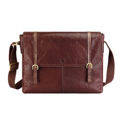 Fleet Street 03 Messenger bag, siberia,  brown
