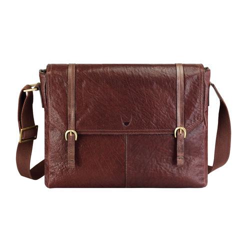 Fleet Street 03 Messenger bag, siberia,  brown