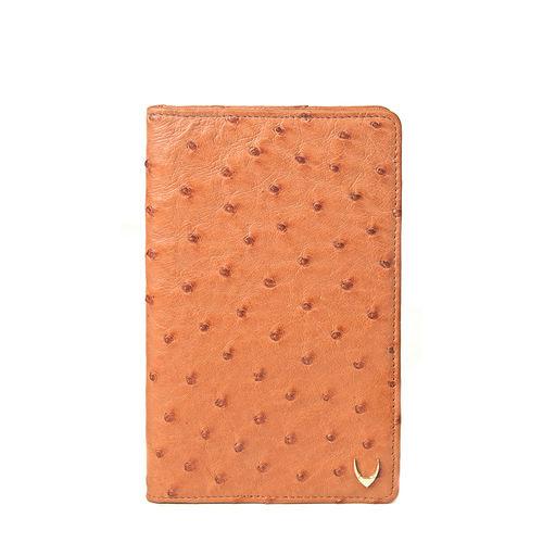 Caspian Women s Wallet, Ostrich Lamb,  tan, ostrich