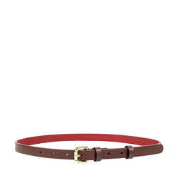 AKIRA WOMENS BELT RANCH,  brown, 34-36