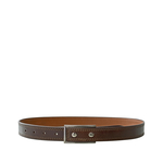 Boris I Men s Belt, Soweto Regular, 42,  brown