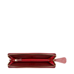 BELLE STAR W3 (RF) WOMENS WALLET EI EMBOSS,  red