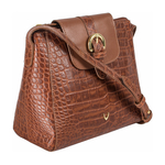 Sb Lyra Women s Handbag Croco,  tan