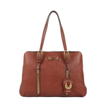 METAL 03 WOMENS HANDBAG KALAHARI,  brown
