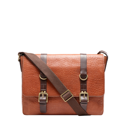AMERIGO 02 MESSENGER BAG NAVAJO,  tan