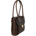 Tabit 02 Women s Handbag, Lizard Melbourne Ranch,  brown