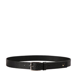 Ee Leanardo Men's Belt Glazed Croco Printed, 34,  black