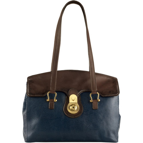 Cressida 02 Women s Handbag Cement Lizard,  midnight blue