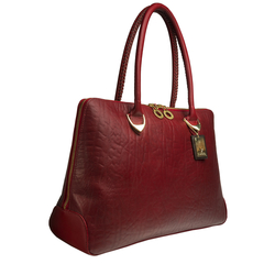 Yangtze 03 Women's Handbag, Elephant Ranch,  red