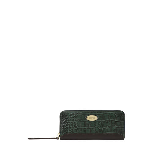 Spruce W1 Sb (Rfid) Women s Wallet Croco,  emerald green
