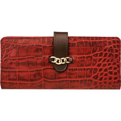 Sb Atria W1 Women's Wallet, Croco,  red