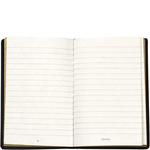 Little Black Book Notebook,  black, maori