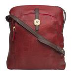 Sb Mensa 02 Women s Handbag, Cement Lizard Ranchero,  red