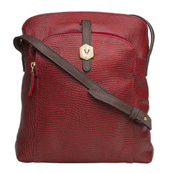 Sb Mensa 02 Women's Handbag, Cement Lizard Ranchero,  red