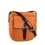 Rizzo 01 Women s Handbag, Baby Croco Melbourne,  pumpkin