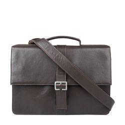 Brad Men's Laptop Bag Regular,  brown