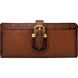 Pheme W1 Women's Wallet, Cabo Lamb,  brown, cabo