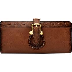 Pheme W1 Women's Wallet, Cabo Lamb,  brown, cabo