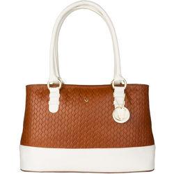Marty 01 Women's Handbag, Hdn Woven Ranch,  tan