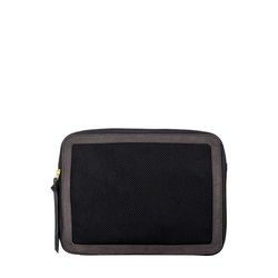 Jean 01 Storage Box, Canvas,  black