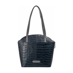 Kasai 02 Sb Women s Handbag, Croco,  midnight blue