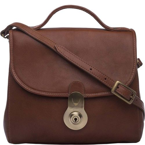 Marina Women s Handbag, Soweto Maori,  brown