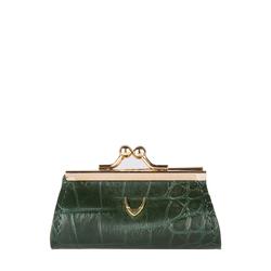 Mia Coin Pouch Croco,  green
