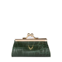 Mia Coin Pouch Croco,  green