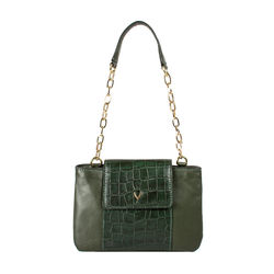 Aquarius 01 Women's Handbag Croco,  green
