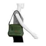 Taurus 02 Women s Handbag, Lizard Melbourne Ranch,  green