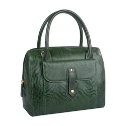 EE HONG KONG 03 WOMENS HANDBAG LIZARD,  emerald green