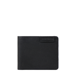 Uranus W1 Sb(Rf) Men's Wallet Manhattan,  black