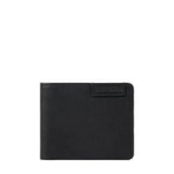 Uranus W1 Sb(Rf) Men's Wallet Manhattan,  black