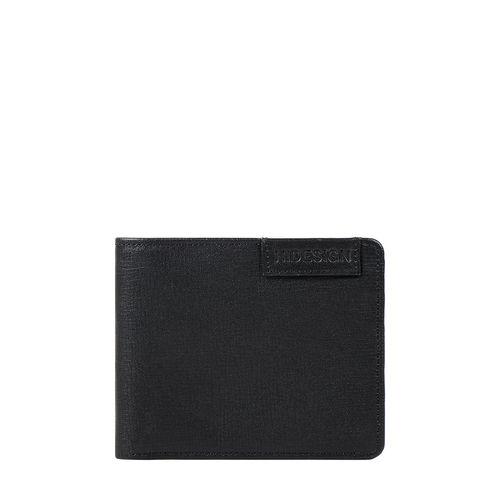 Uranus W1 Sb(Rf) Men s Wallet Manhattan,  black