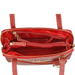 109 01 Women s Handbag, Croco,  red