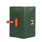 Harper W2 Women s Wallet Croco,  emerald green