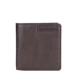 EE URANUS W3 RF MENS WALLET REGULAR PRINTED,  brown