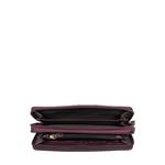 Taurus W2 Sb (Rfid) Women s Wallet Snake,  aubergine