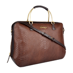 Royale 01 Women s Handbag, Snake Ranchero,  brown