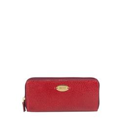 Taurus W2 (Rfid) Women's Wallet Lizard,  red