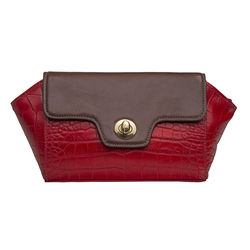 Atria 04 Women's Wallet Croco,  red