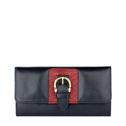 Shanghai W1 Sb Women's wallet, Melbourne Ranch Snake,  black