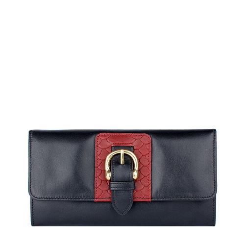 Shanghai W1 Sb Women s wallet, Melbourne Ranch Snake,  black